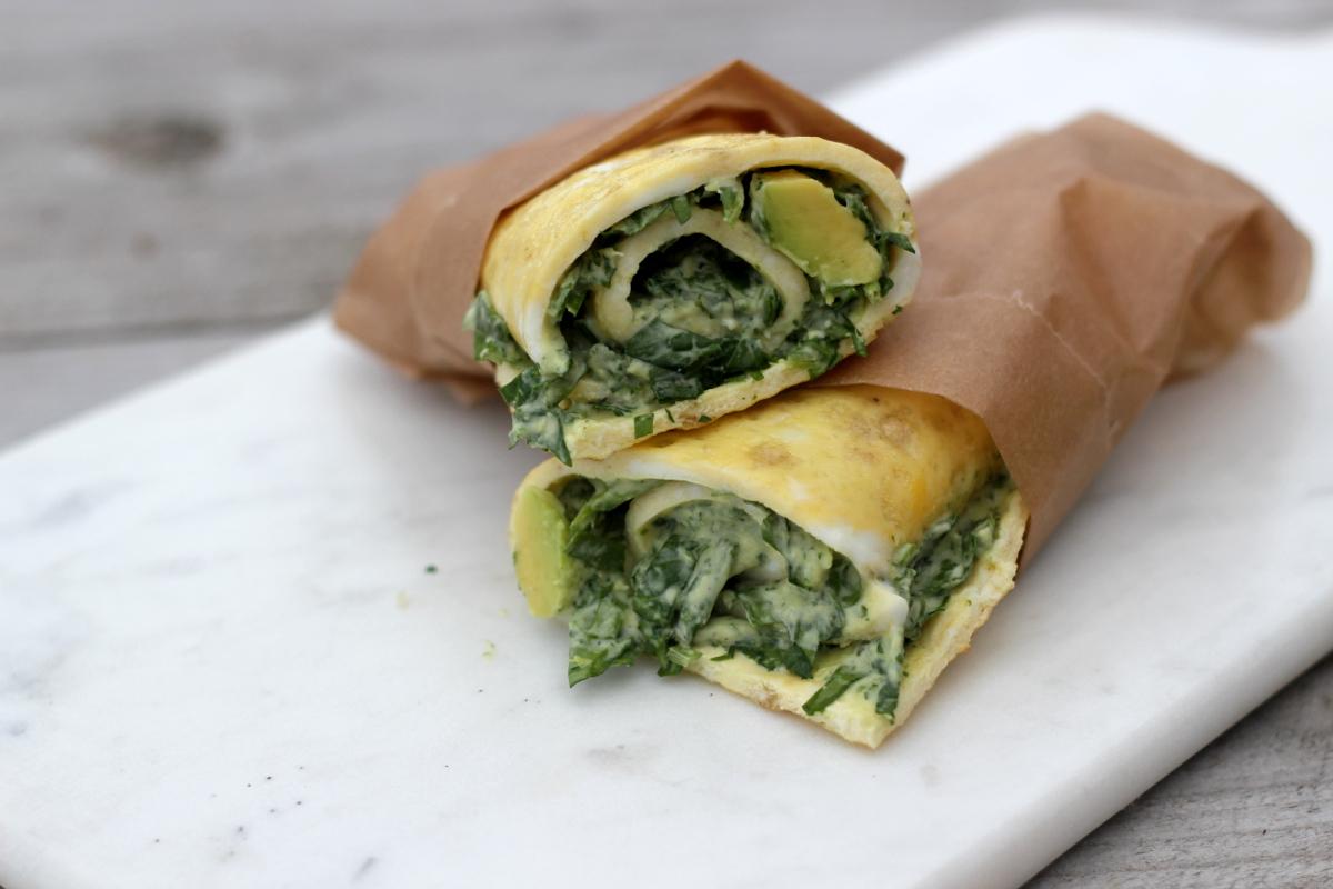 vegetarisk wrap med avokado och spenat1