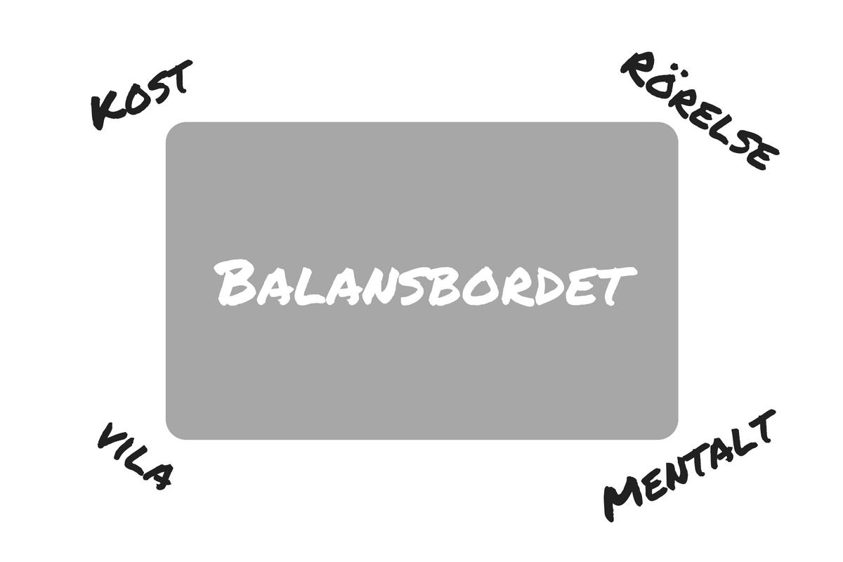 Balansbordet