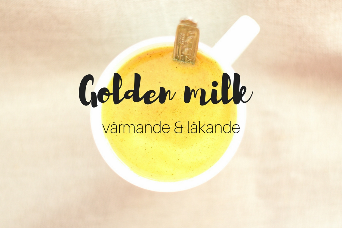 Golden milk – antiinflammatorisk hälsodryck