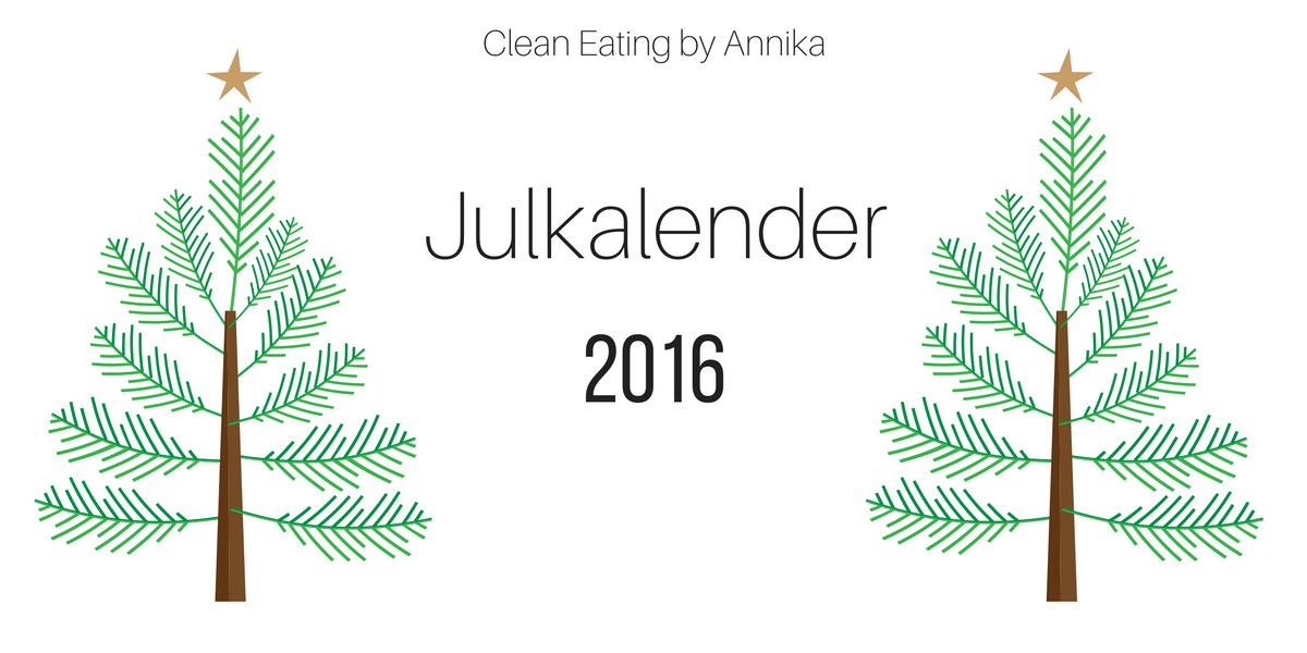 Alla vinnare i årets julkalender