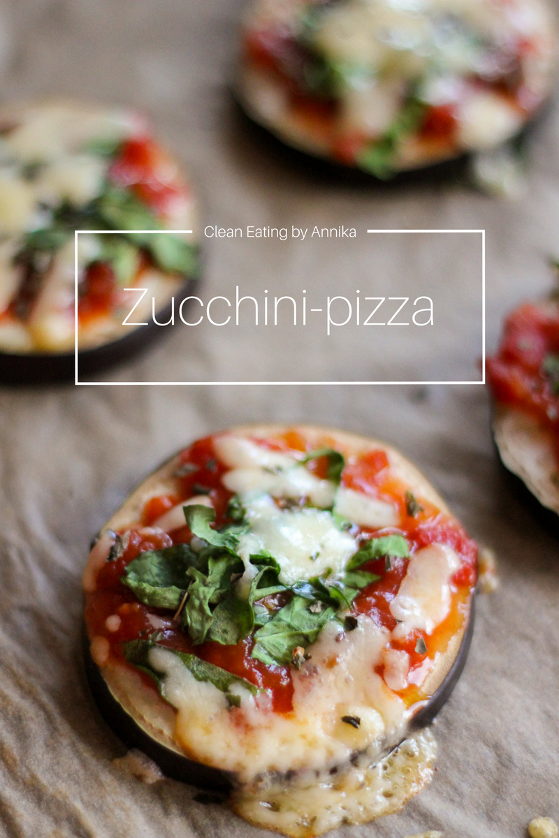 zucchini pizza recept