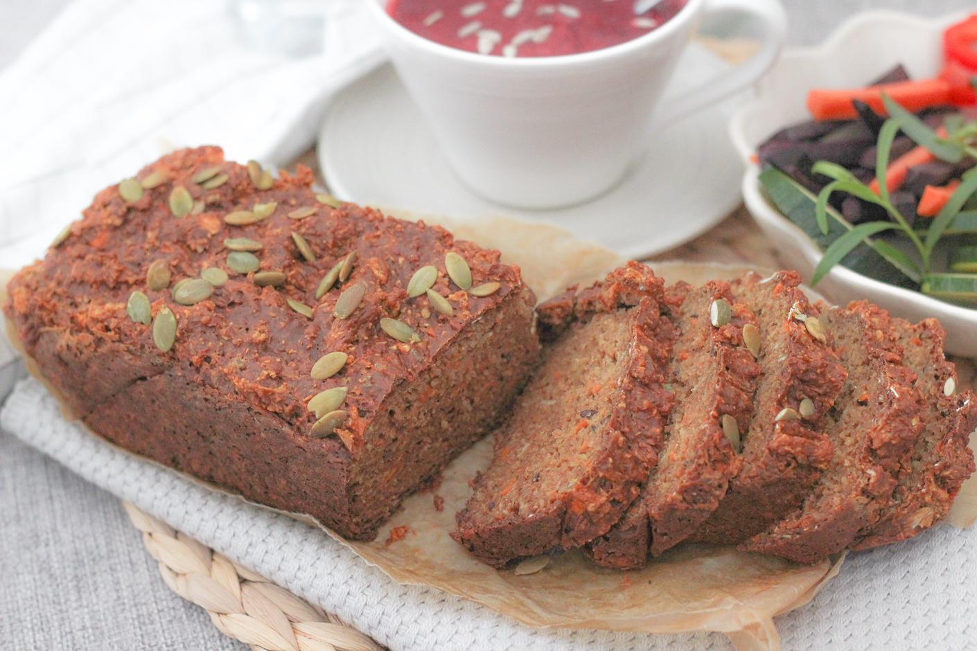 Proteinbröd med morot – glutenfritt & slow carb