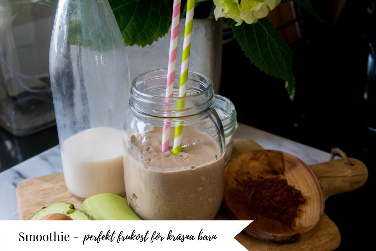 nyttig och mättande frukost för kräsna barn