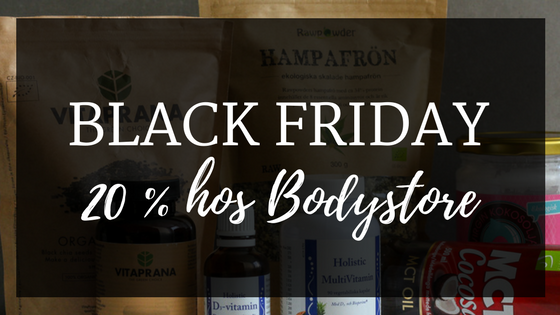 Black friday bodystore.com