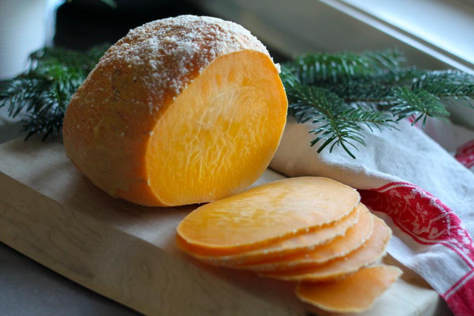 vegetarisk julskinka kålrot