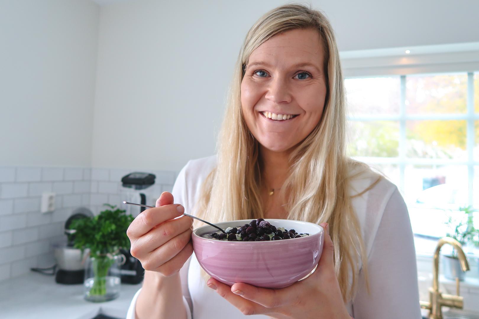 Annika Malm inflyttad nya huset