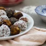 Chokladbollar med kikärtor
