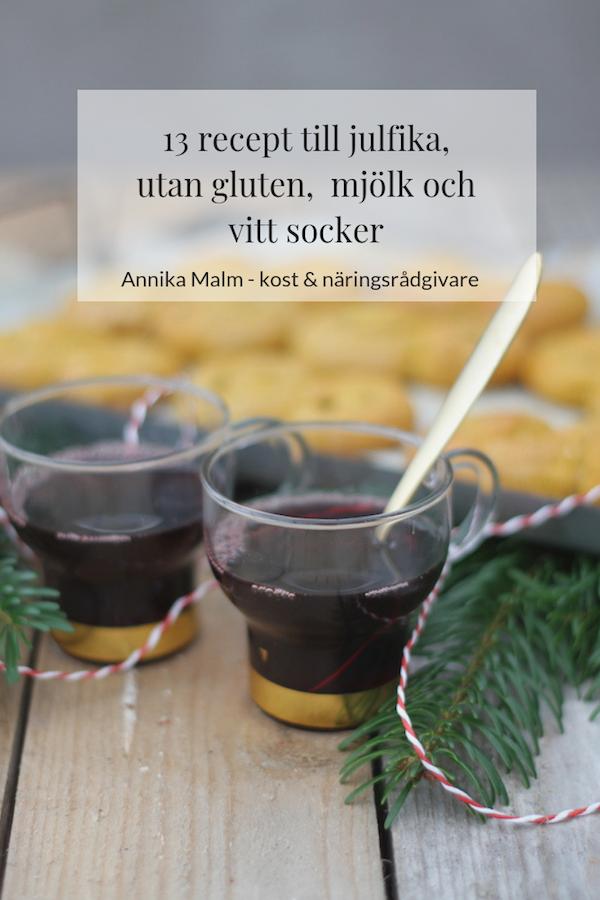 fika jul glutenfritt mjölkfritt