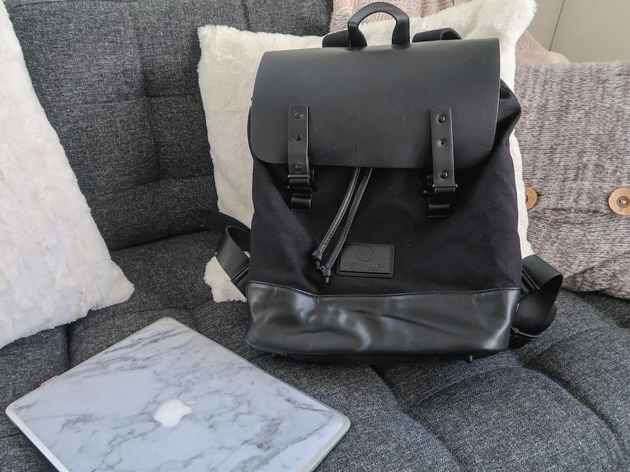 Snygg och bekväm ryggsäck från Gaston Luga – 15 % och present på köpet