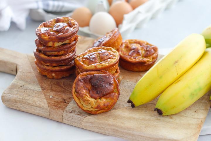 Mjölkfria bananmuffins – gott mellanmål & fika (Paleo)