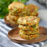 Morots & zucchinibiffar - glutenfria mjölkfria