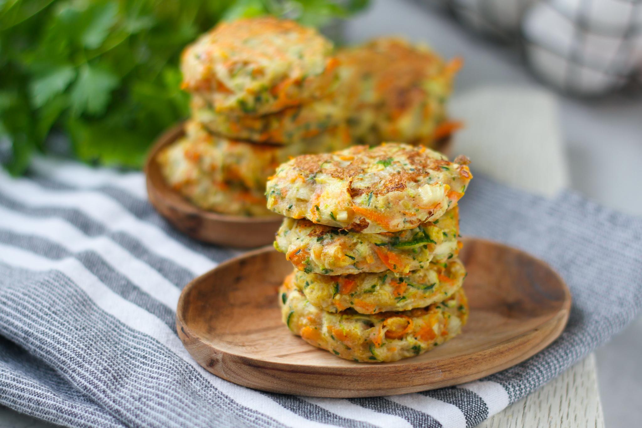 Morots & zucchinibiffar – glutenfria mjölkfria