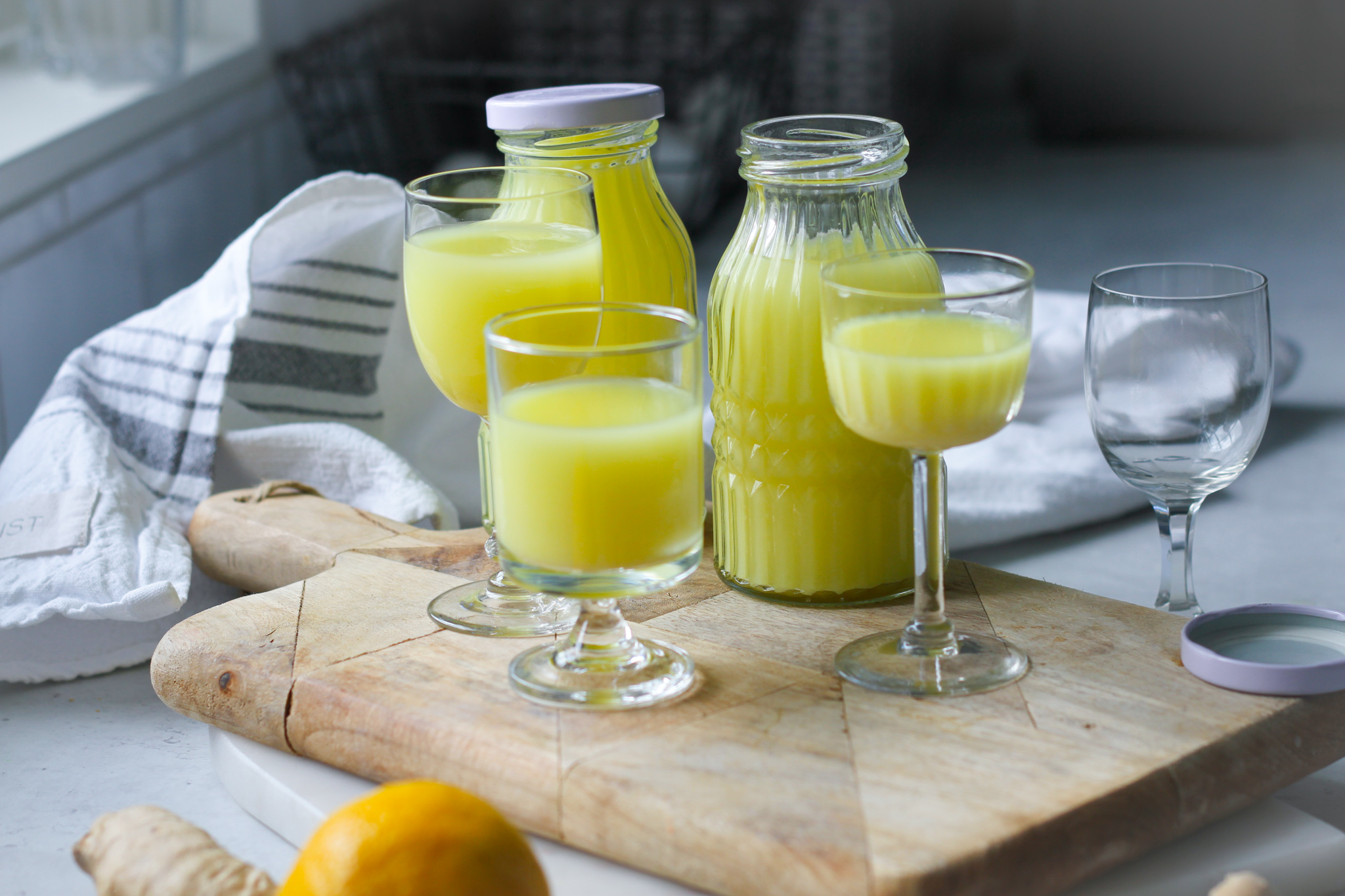 Ingefärsshot – stärk immunförsvaret mot Corona