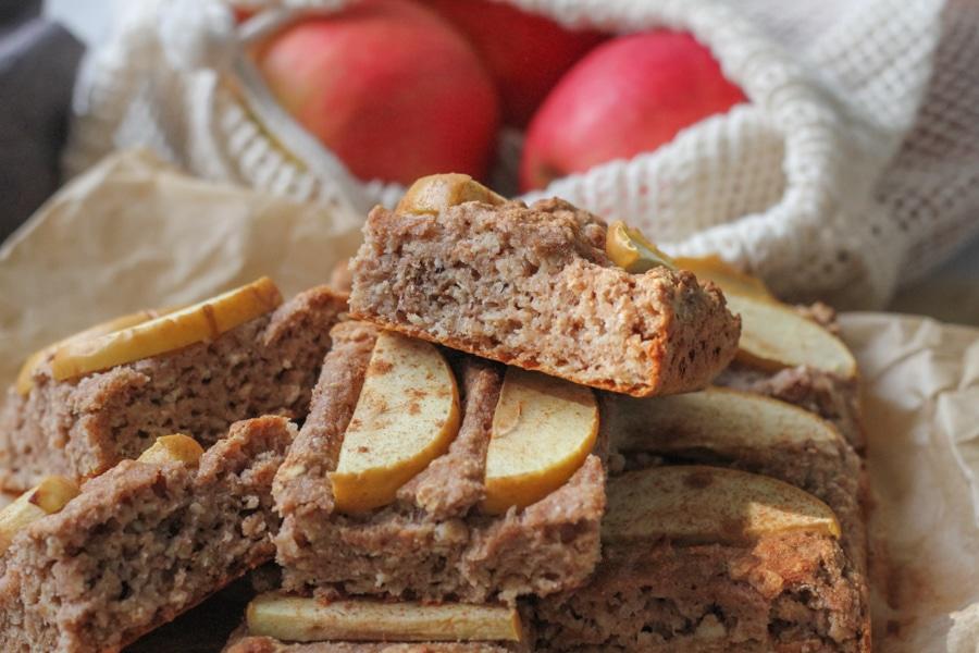 mellanmålsrutor med äpple 5